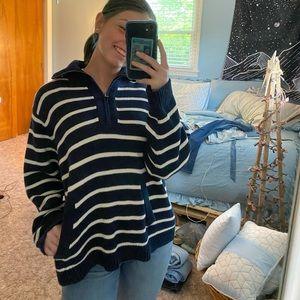 Striped Liz Claiborne pullover